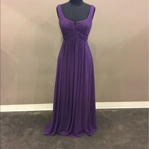 Purple Prom Homecoming Gala Gown